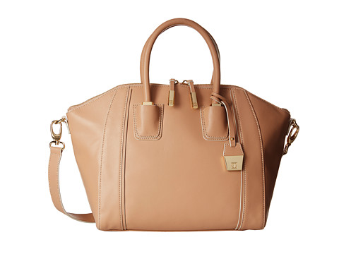 Ivanka Trump - Doral Satchel (Palomino Oil Tan Peek-A-Boo) Satchel Handbags
