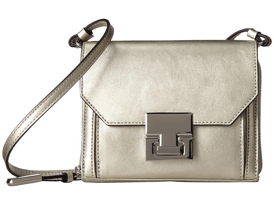 Ivanka Trump - Hopewell Crossbody Wallet (Champagne Metallic) Wallet Handbags