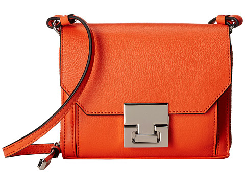 Ivanka Trump - Hopewell Crossbody Wallet (Orange Pebble) Wallet Handbags