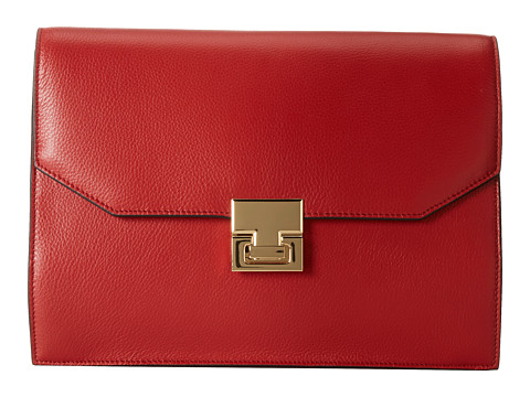 Ivanka Trump - Hopewell Clutch (Red Pebble) Clutch Handbags