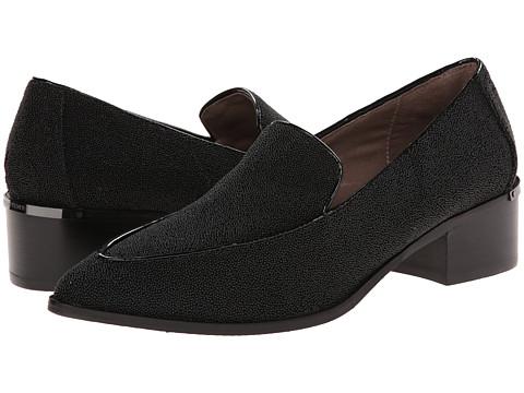 Donald J Pliner - Dias (Black Caviar Fabric) Women's Shoes