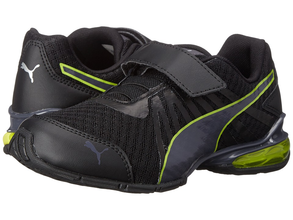 Puma Kids - Cell Kilter V (Toddler/Little Kid/Big Kid) (Black/Periscope/Sulphur Spring) Boys Shoes