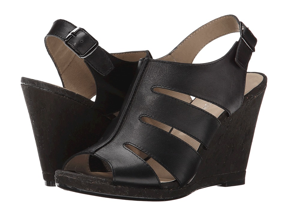 Donald J Pliner - Haddi (Black Soft Vachetta) Women's Wedge Shoes