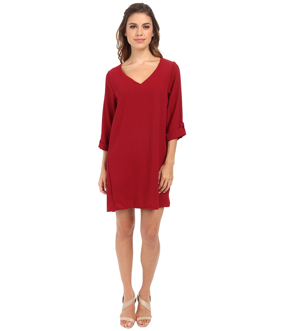Brigitte Bailey - Candice Dress (Wine) Women's Dress