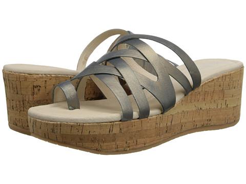 Donald J Pliner - Salma (Malibu Metallic Goat) Women's Wedge Shoes