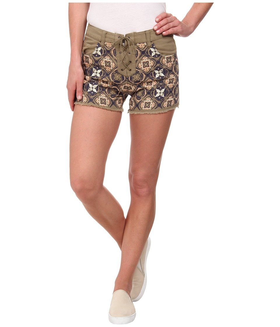 Obey - Marra Shorts (Army) Women's Shorts