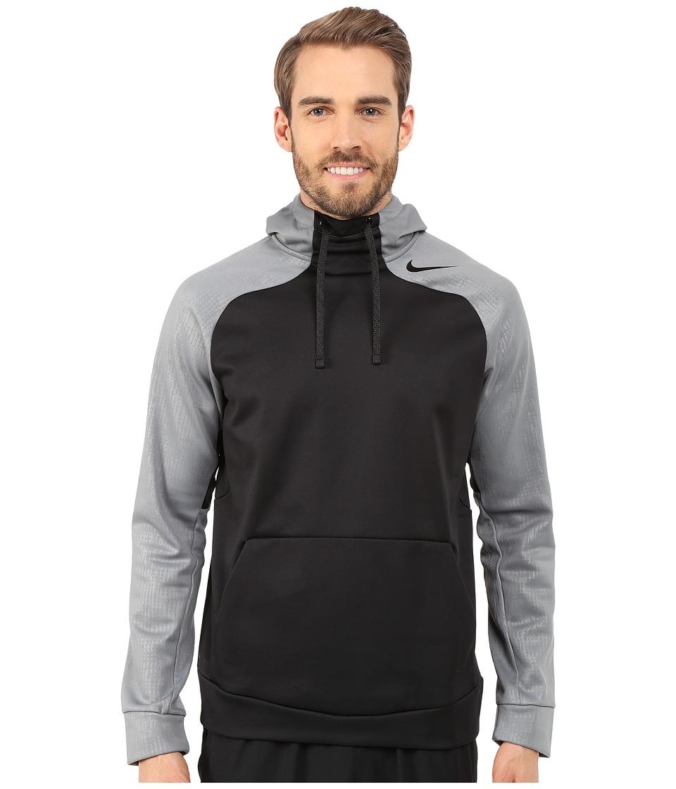 Nike - Hyperspeed Fleece Pullover Hoodie (Black/Cool Grey/Cool Grey/Black) Men