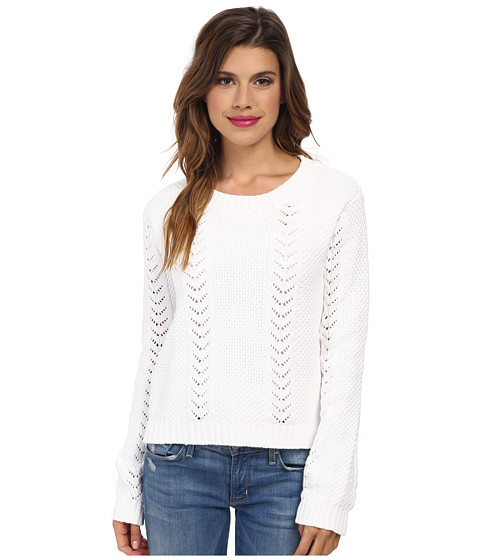 MINKPINK - Dream Away Jumper (White) Women's Sweater