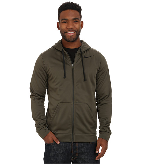 Nike - KO Full-Zip Hoodie 3.0 (Cargo Khaki/Black) Men's Sweatshirt
