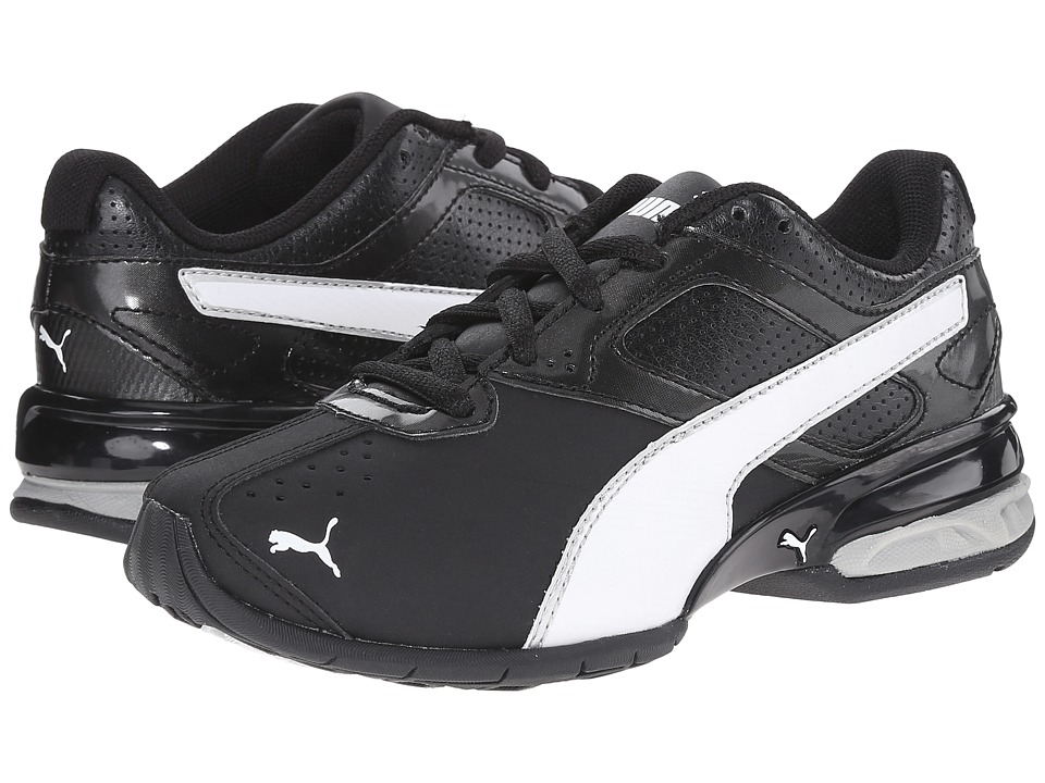 Puma Kids - Tazon 6 SL (Little Kid/Big Kid) (Black/White/Puma Silver) Boys Shoes