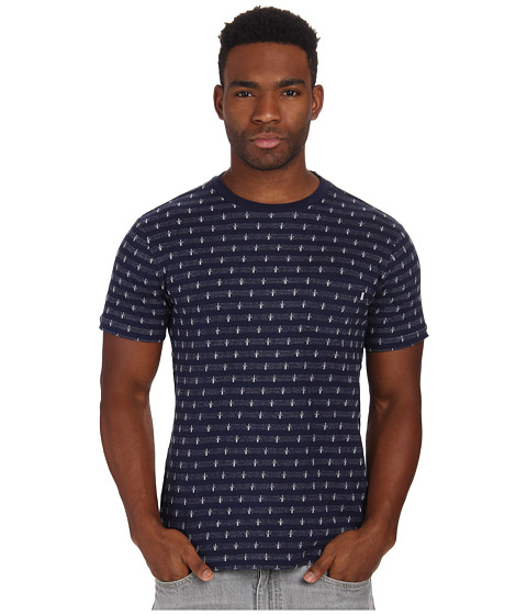 Obey - Royal Pocket Tee (Navy Multi) Men's T Shirt