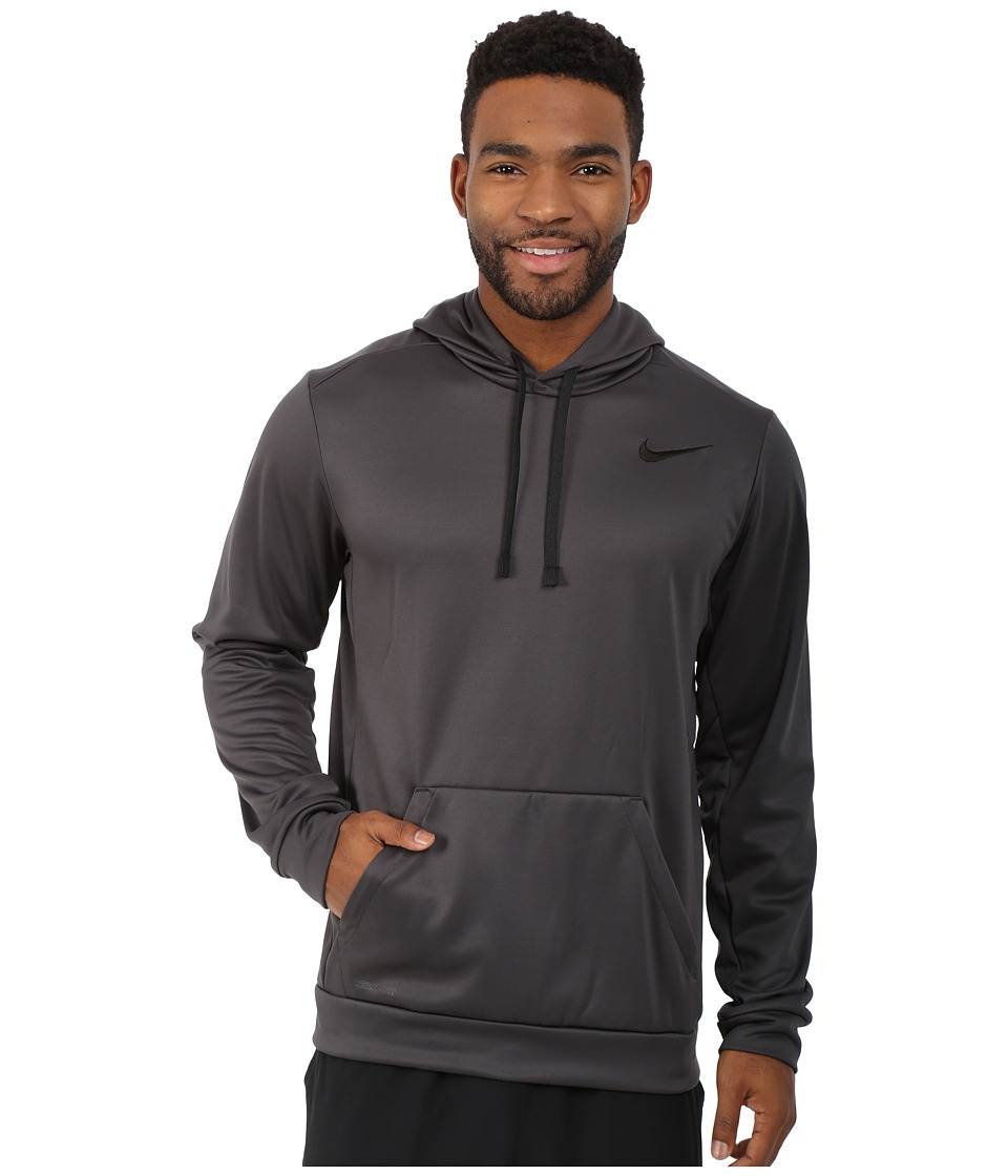 Nike - KO Hoodie 3.0 (Anthracite/Anthracite/Black/Black) Men's Sweatshirt