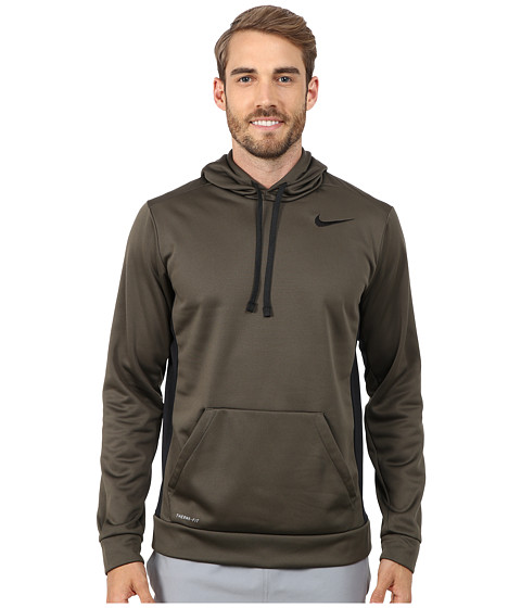 Nike - KO Hoodie 3.0 (Cargo Khaki/Black/Black/Black) Men