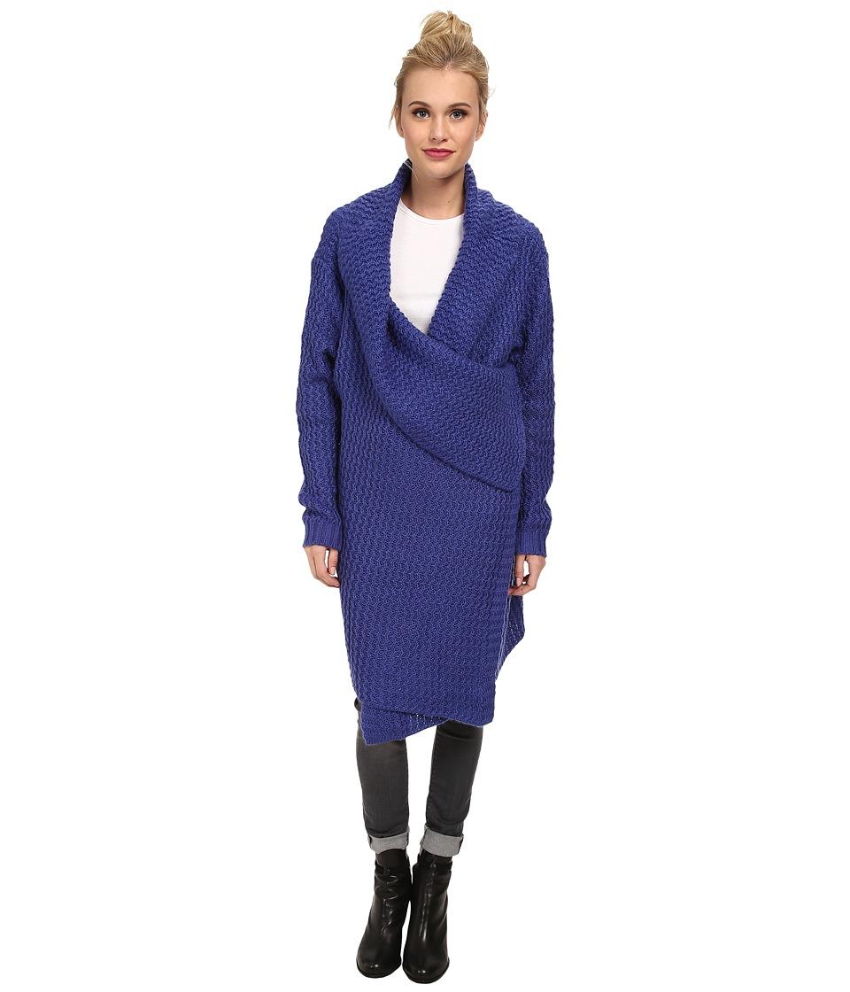 MINKPINK - The Heart Of The Night Cardigan (Indigo) Women's Sweater