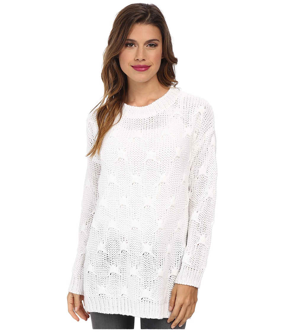 MINKPINK - Shake The World Jumper (Chalk White) Women's Sweater