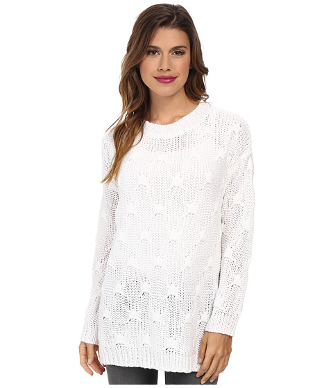 MINKPINK - Shake The World Jumper (Chalk White) Women