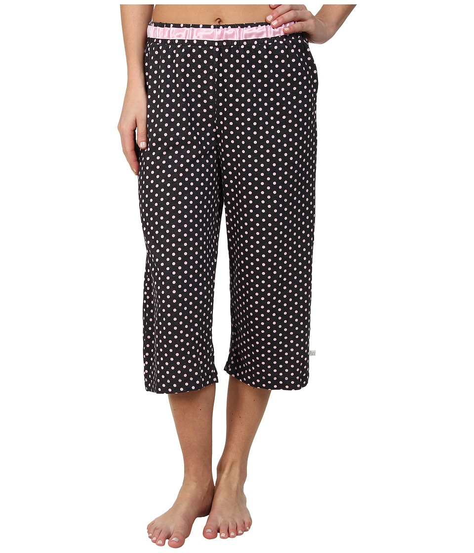 Karen Neuburger - Le Boulevard Dot Crop Pants (Black) Women