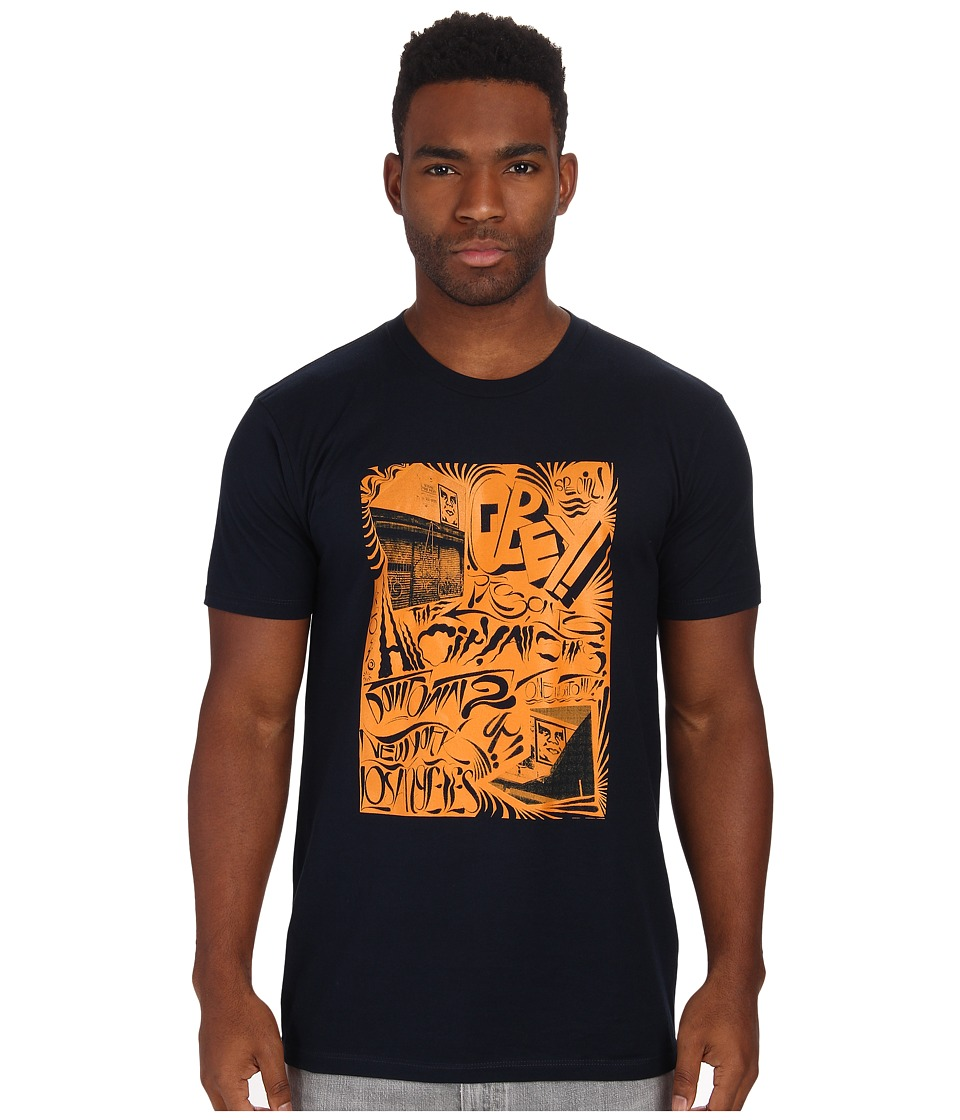 Obey - All City All Stars Tee (Navy) Men's T Shirt