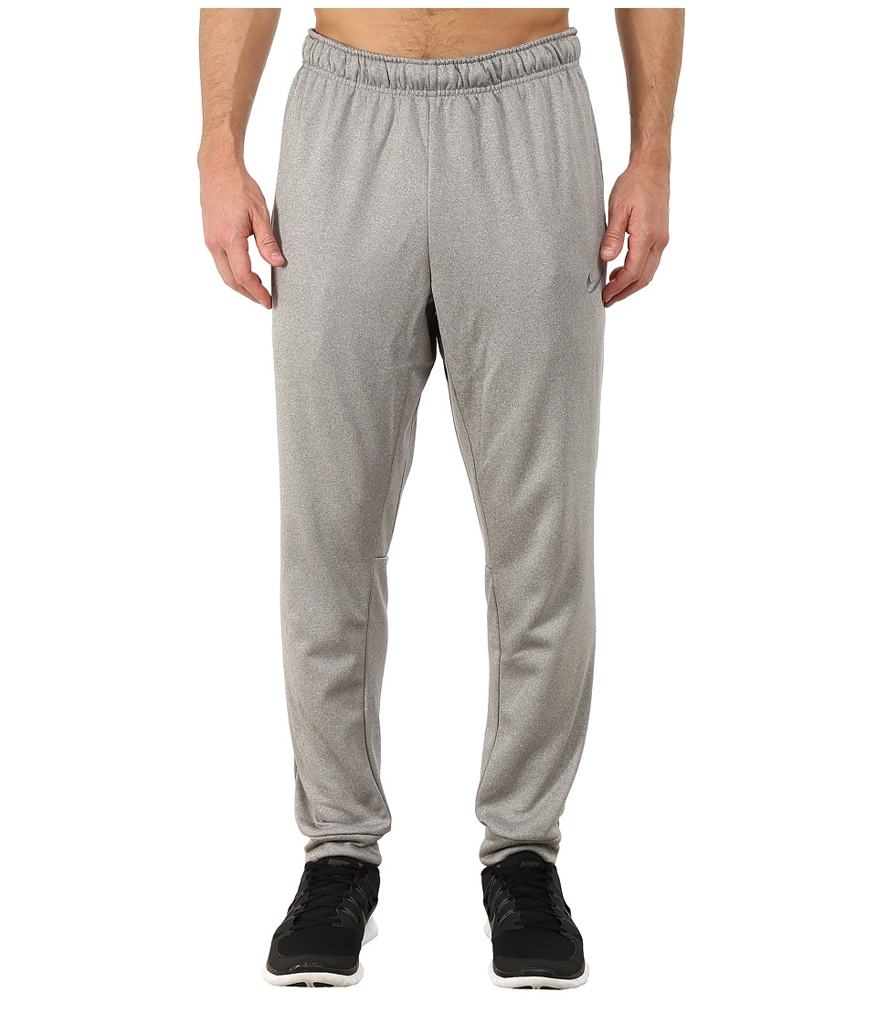 Nike - KO Slacker Pant (Dark Grey Heather/Dark Grey Heather/Cool Grey) Men's Workout