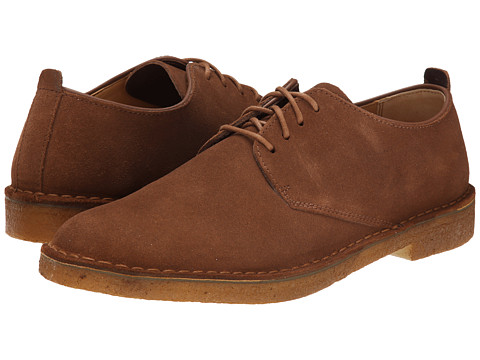 Clarks - Desert London (Cola Suede) Men's Lace up casual Shoes
