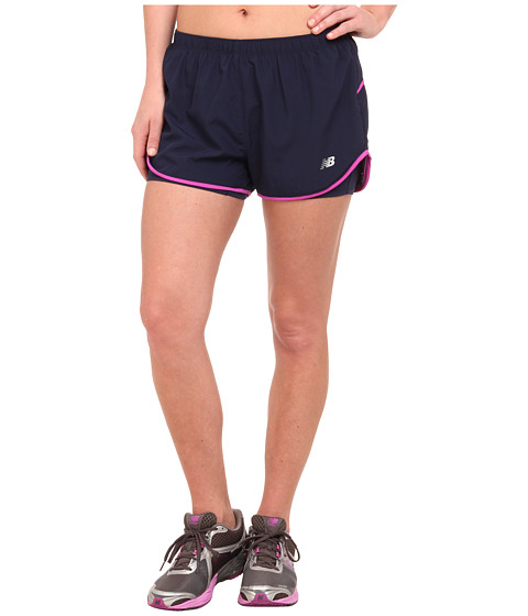 New Balance - Woven 2-in-1 Shorts (Pigment) Women's Clothing