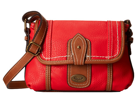 b.o.c. - Oaxaca Flap Crossbody (Poppy) Cross Body Handbags