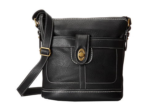 b.o.c. - Bucket Turnlock (Black) Handbags