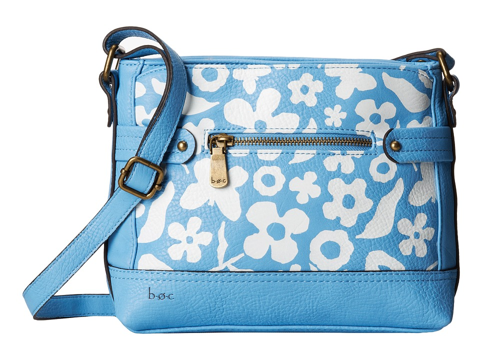 b.o.c. - Benning II East/West Crossbody (Sky Floral) Cross Body Handbags