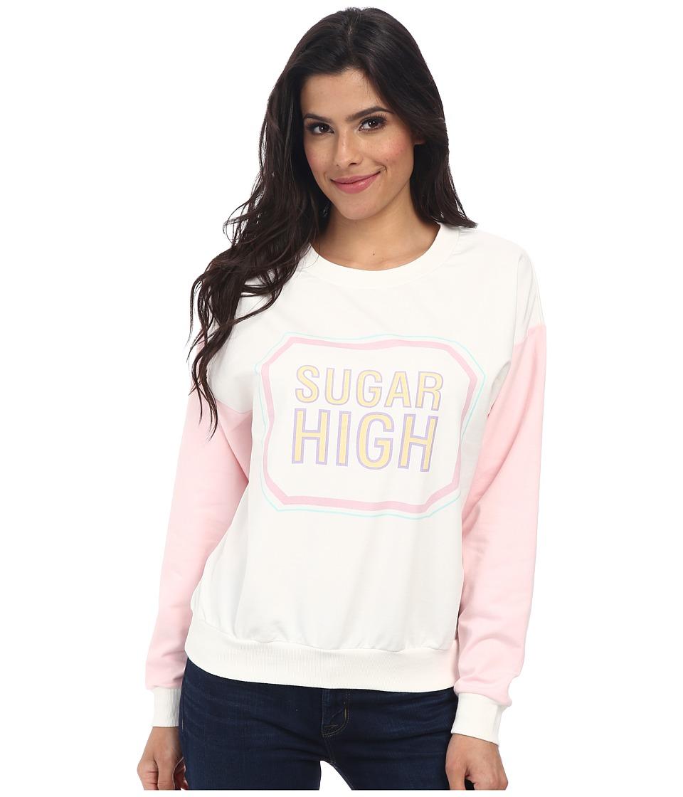 MINKPINK - Sugar High Sweater (Multi) Women's Sweatshirt