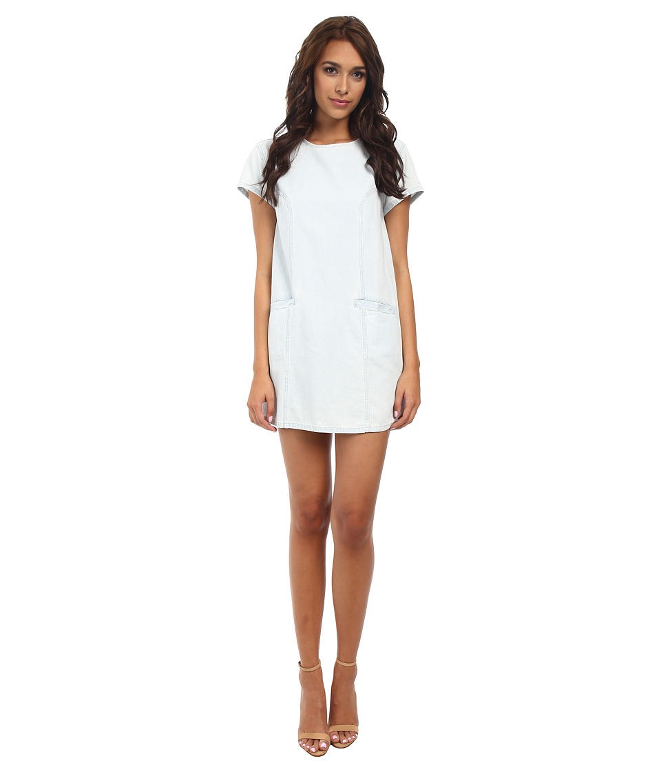MINKPINK - Cool Runnings Tee Dress (Ice Blue) Women's Dress