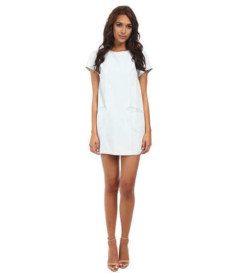 MINKPINK - Cool Runnings Tee Dress (Ice Blue) Women