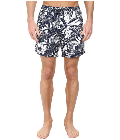 BOSS Hugo Boss - Piranha 10135293 04 Swim Shorts (Open Blue) Men's Swimwear