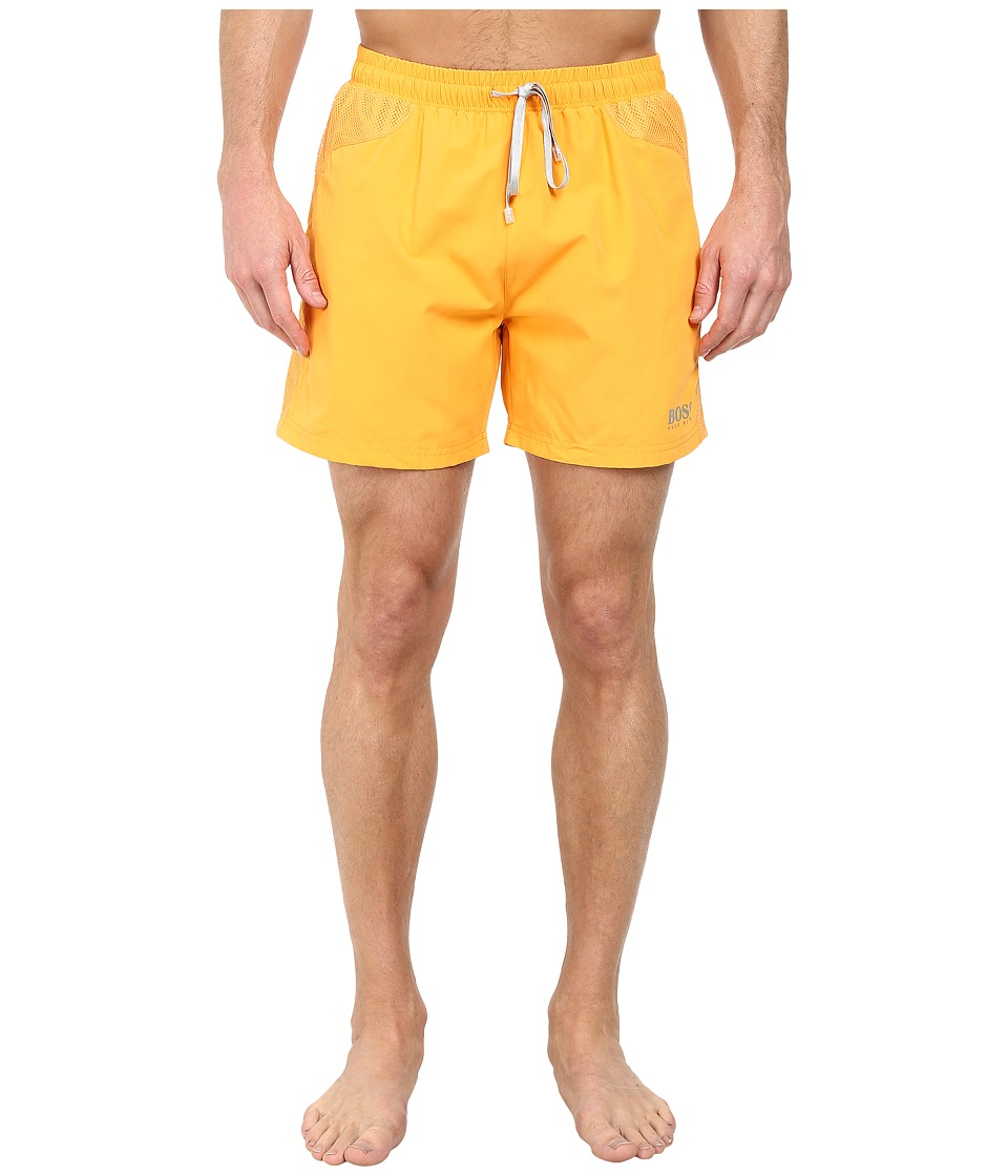 BOSS Hugo Boss - Whalefish 10180964 0 Swim Shorts (Dark Yellow) Men