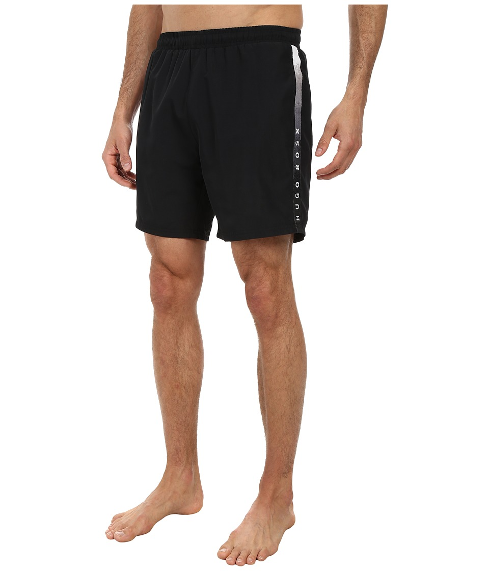 BOSS Hugo Boss - Seabream 10180964 01 Swim Shorts (Black) Men's Swimwear