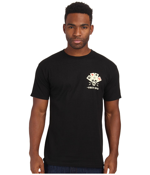 Obey - On Deck Tee (Black) Men's T Shirt