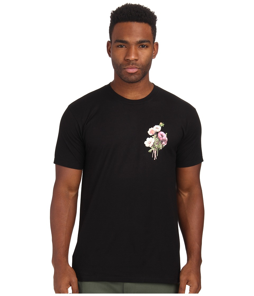 Obey - Confident Floral Tee (Black) Men's T Shirt