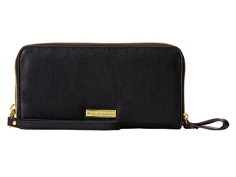 Steve Madden - Double Zip Wallet (Black) Wallet Handbags