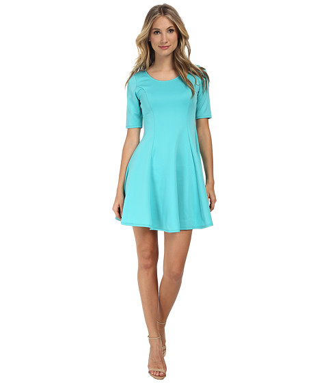 Gabriella Rocha - Cassidy Scuba Skater Dress (Mint) Women's Dress