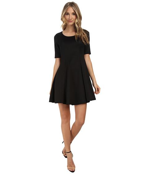 Gabriella Rocha - Cassidy Scuba Skater Dress (Black) Women