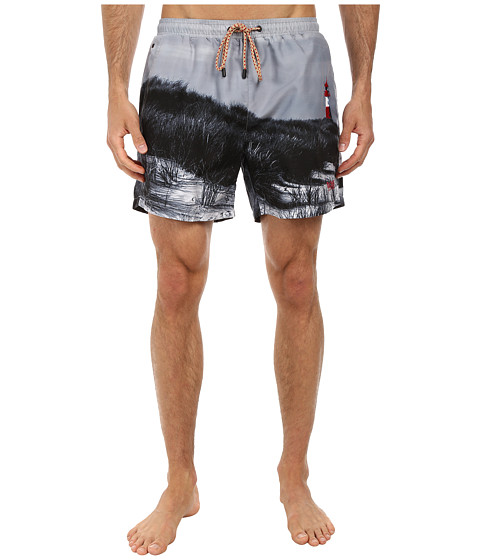 BOSS Hugo Boss - Springfish 10135293 Swim Shorts (Grey) Men's Swimwear