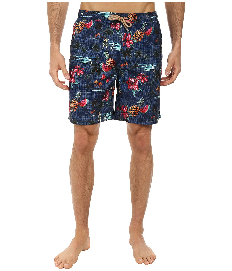 BOSS Hugo Boss - Clownfish 10135293 0 Swim Shorts (Dark Blue) Men's Swimwear