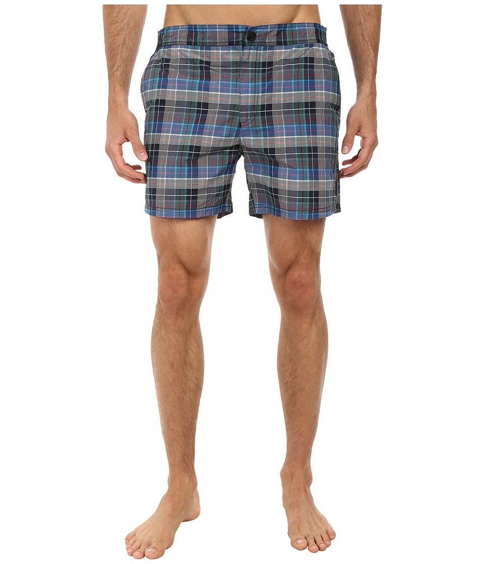 BOSS Hugo Boss - Tigerfish 10171287 0 Swim Shorts (Open Blue) Men's Swimwear