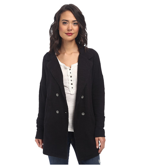 Free People - Casual Friday Blazer (Black Combo) Women's Jacket