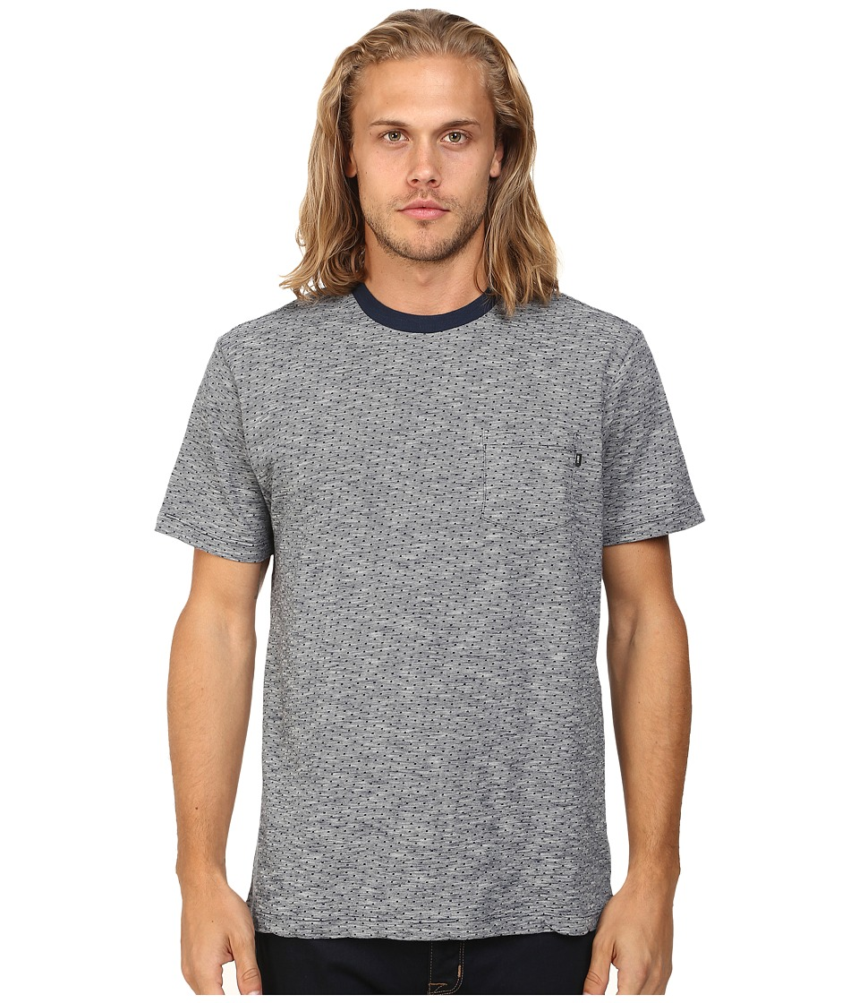 Obey - Revolt Pocket Tee (Indigo) Men's T Shirt