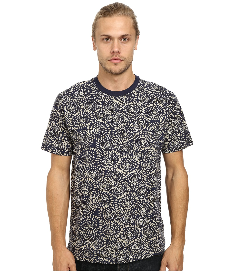 Obey - Rhythm Pocket Tee (Indigo Mulit) Men's T Shirt