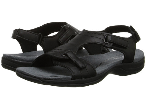 Easy Spirit - Sandcastle (Black Leather) Women