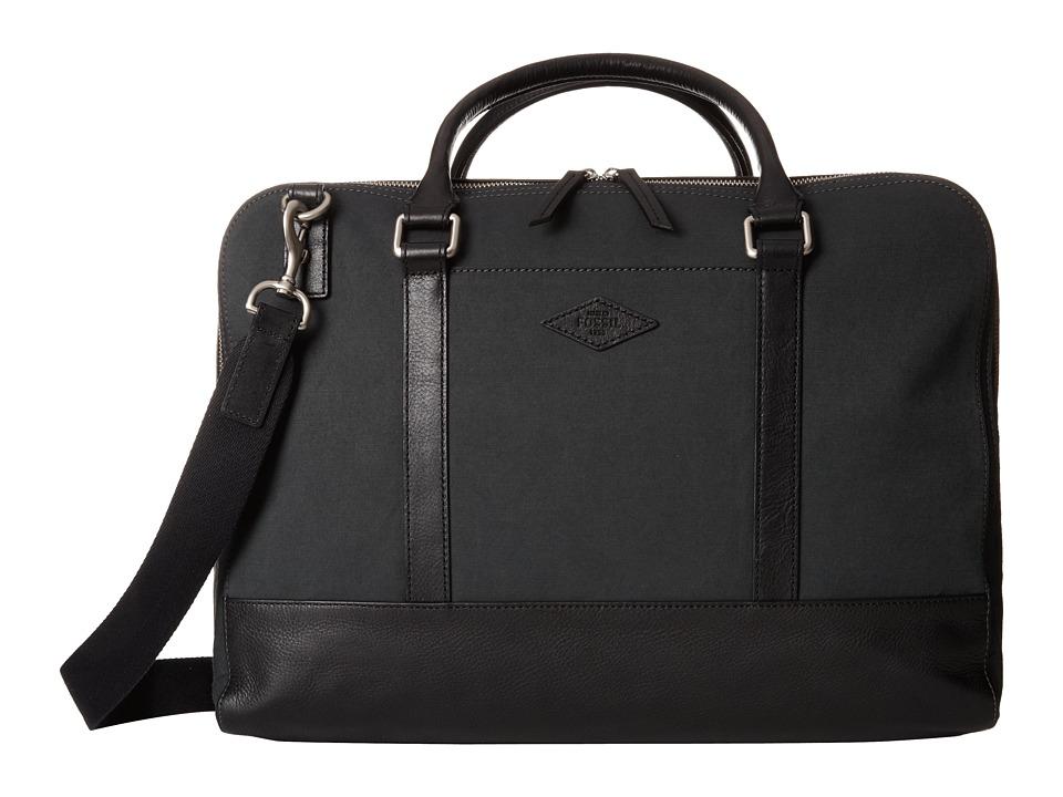 Fossil - Bowen Duffel (Black) Duffel Bags