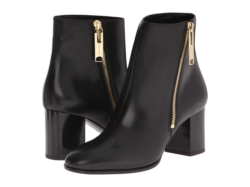 Burberry - Allen (Black) Women's Zip Boots