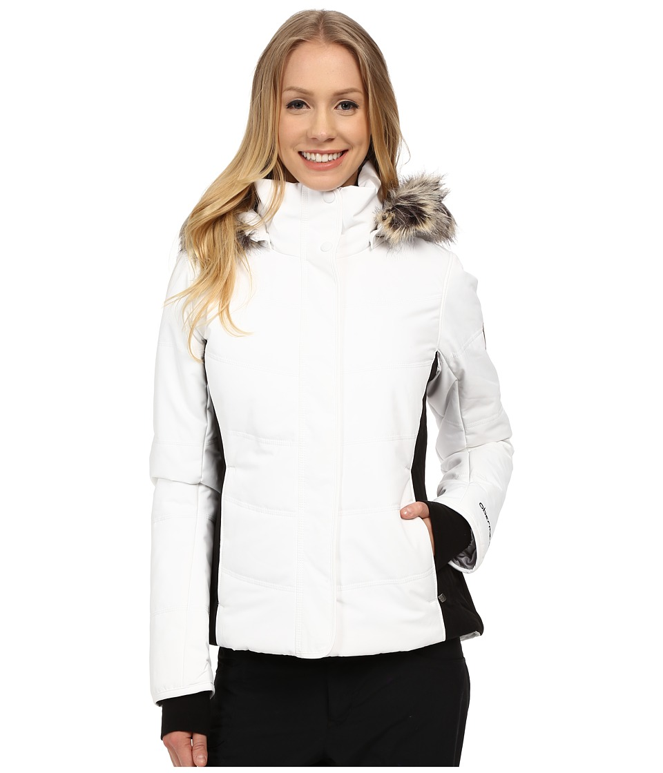 Obermeyer - Tuscany Jacket (White) Women's Coat