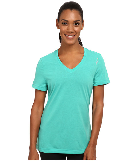 Reebok - Workout Ready Supremium Tee (Glass Green) Women